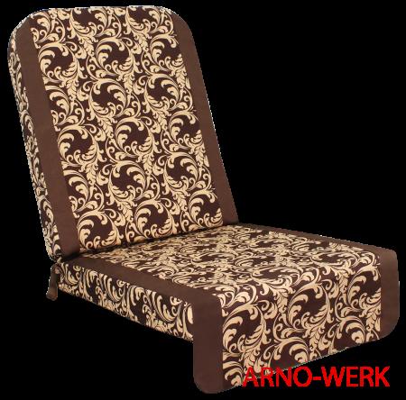 Подушка-кресло для 4-х местных качелей Дефа Люси  ШОКОЛАД
