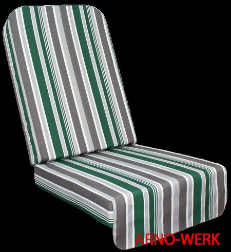 Подушка-кресло для 4-х местных качелей Эдем Премиум 76 Зеленый
