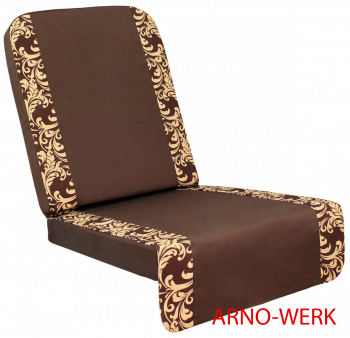Подушка-кресло для 4-х местных качелей Оазис Люкс Плюс ШОКОЛАД