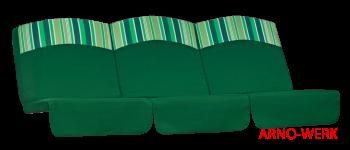 Подушка-кресло для 3-х местных качелей Рандеву Премиум (Рандеву Стандарт)